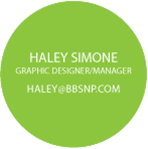 Haley Simone, Graphic Designer, Manager of The Shop BB, Inc. in Bolingbrook, IL