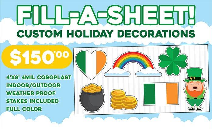 Custom Holiday Decorations