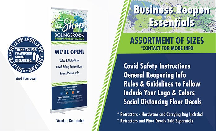 Business Reopen Essentials in Bolingbrook IL